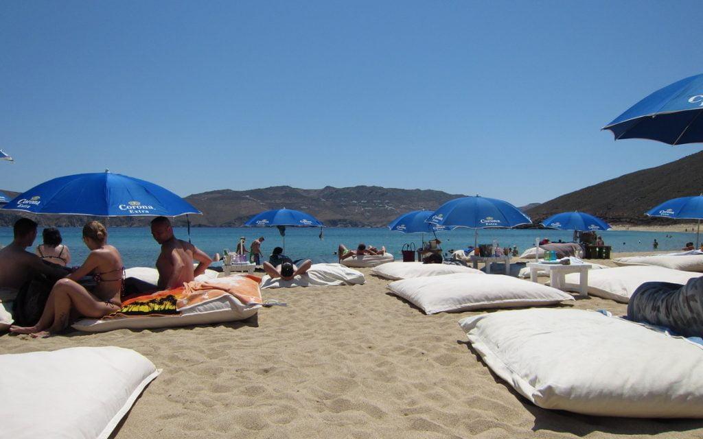 Mykonos Panormos Beach