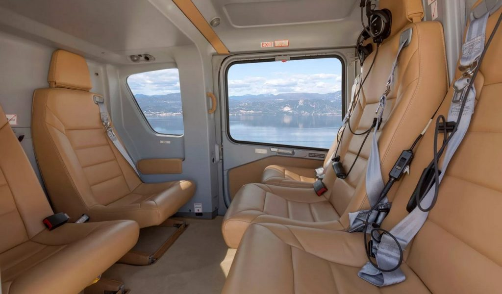 Helicopter And Jet Transfers Interior