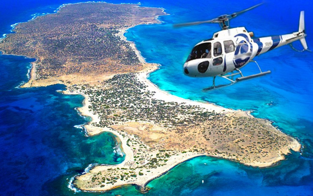 Mykonos Helicopter Private Tour