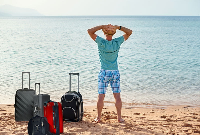 Mykonos Luggage Storage & Care