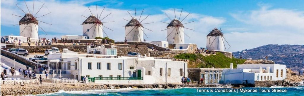 Terms And Conditions Of Mykonos Tours Greece