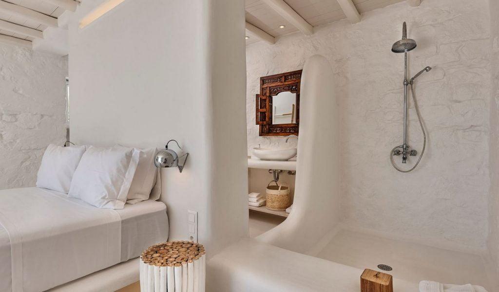 Mykonos Villa Casa Prinsessa  Bathroom