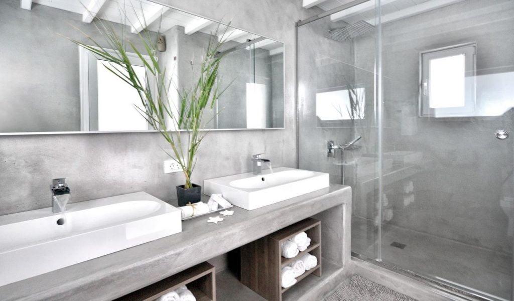 Mykonos Villa Nolita Bathroom