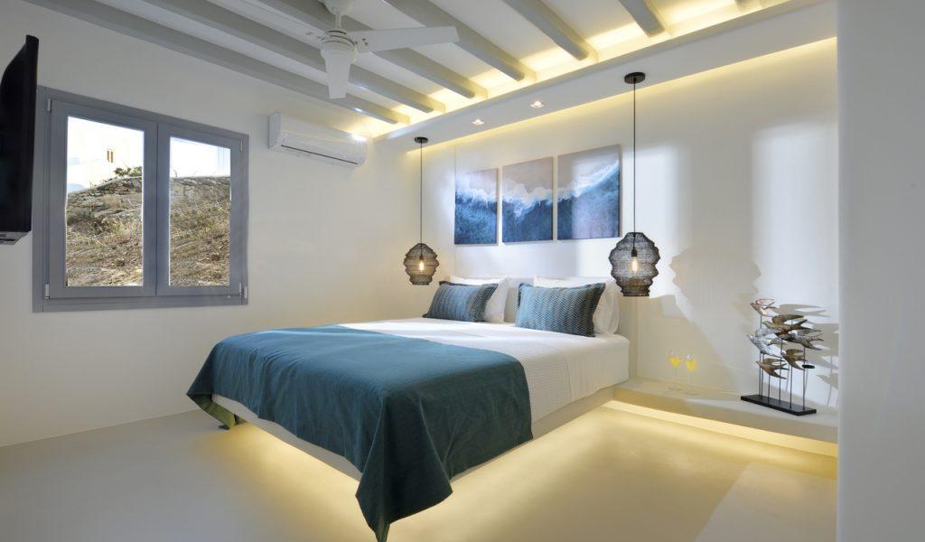 Mykonos Villa Dorita Bedroom