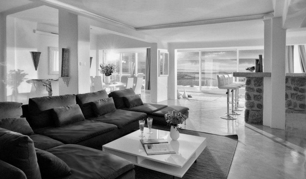 Mykonos Villa Nolita Living Room