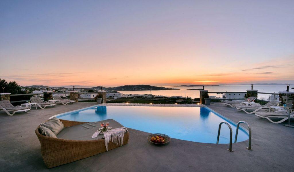 Mykonos Villa Nolita Outdoor Pool
