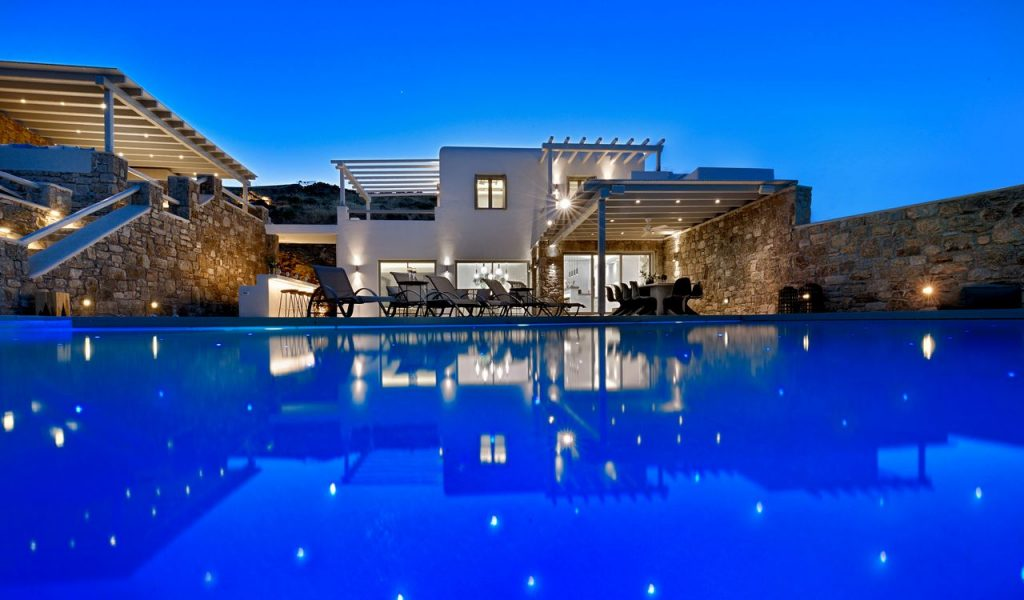 Mykonos Villa Dorita outdoor Pool
