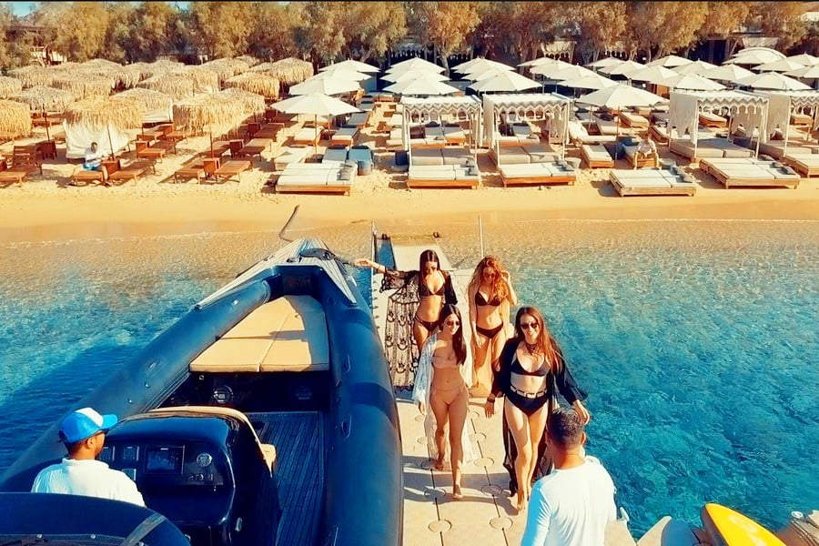 Mykonos Sea Transfers
