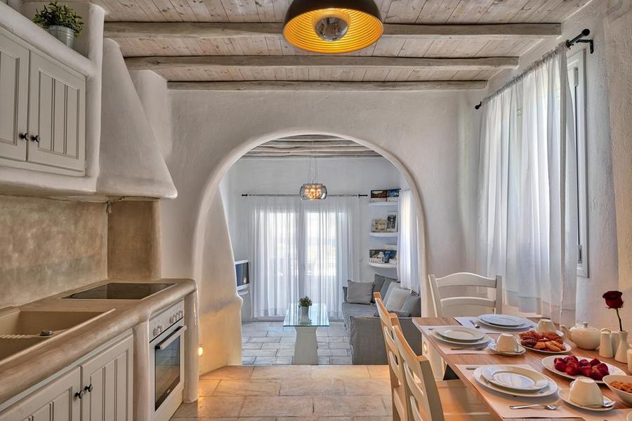 Mykonos Syni Villa Kitchen