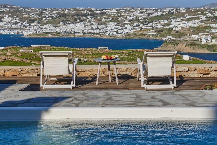 Mykonos Syni Villa Out Door Pool
