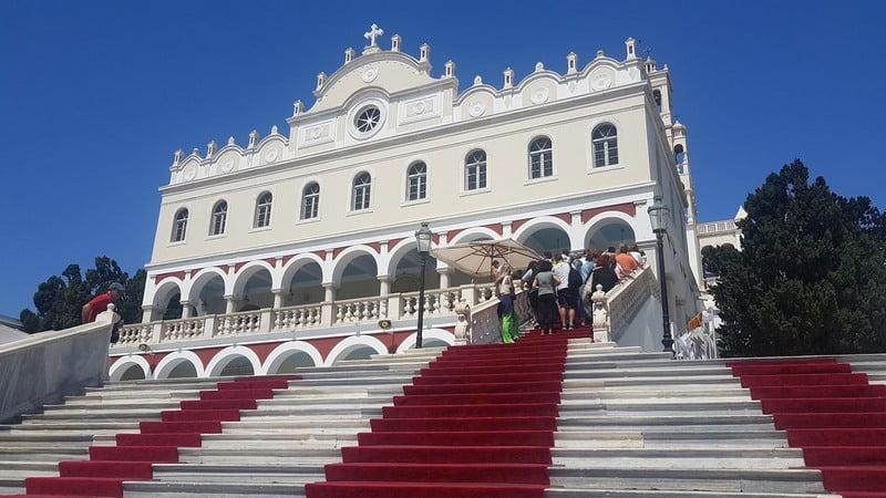 Tinos, Evangellistria Church