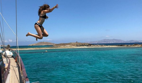 Delos and Rhenia Island
