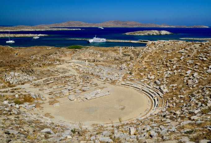 The Theater On delos Island