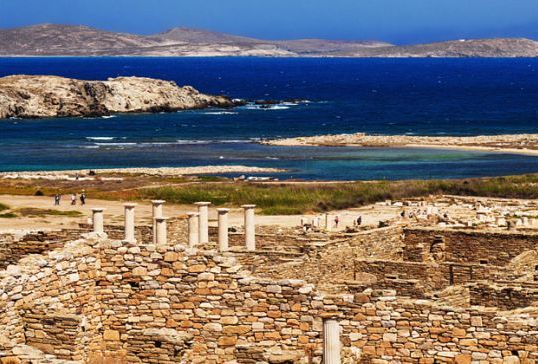 Impeccable Beauty Of Rhenia And Delos Cruise
