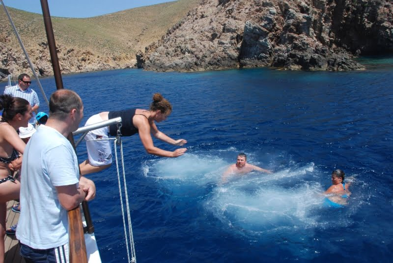 Mykonos South Beaches cruise