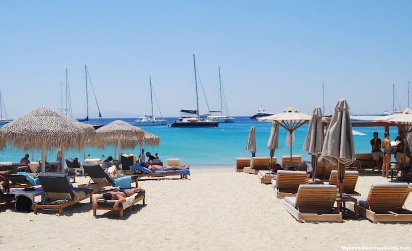 Platys Gialos beach, Mykonos