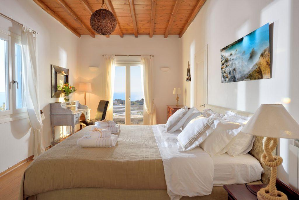 Villa Sergio Azzaro in Mykonos Bedrooms