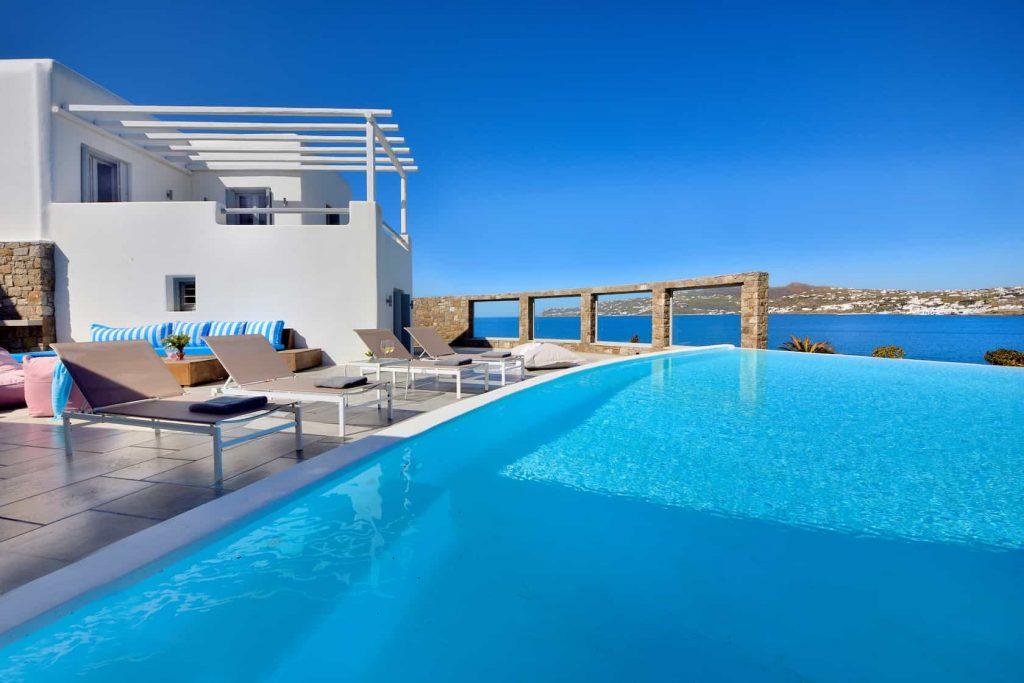 Villa Celestyal In Mykonos, Pool