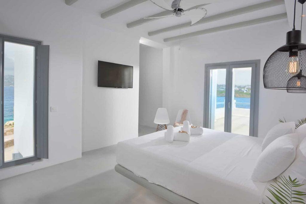 Villa Celestyal In Mykonos, Bedrooms