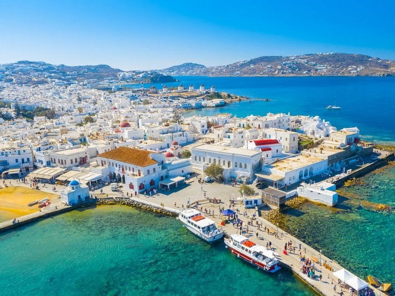 Traditional Mykonos In 4H Panoramic Tour