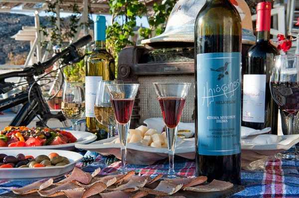 Mykonos Wine Tour & Panorama 4 Hours